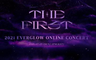Horarios para LATAM y España para el concierto en linea de EVERGLOW THE FIRST