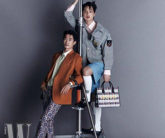 Kai de EXO y el actor Bae Jeong Nam nos regalan un imponente photoshot