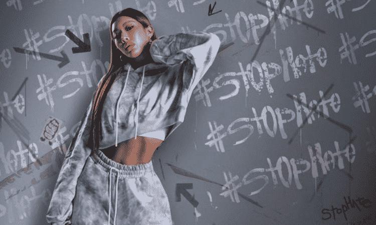 Jessi se une a la marca TRIBUTE para difundir conciencia con la campaña 'El odio es un virus'