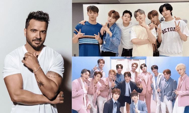 Luis Fonsi confiesa su intención de colaborar con un grupo de K-pop