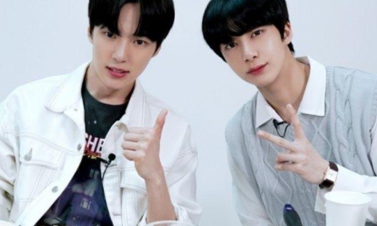 Minhyuk y Hyungwon de Monsta X