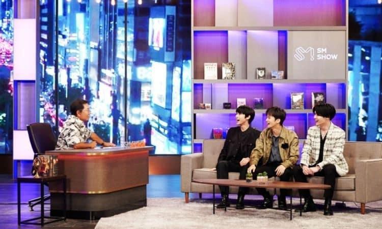 NCT y Lee Soo Man en SM CONGRESS 2021