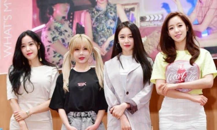 Hyomin, Eunjung, Jiyeon y Qri de T-ARA