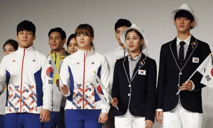 Atletas olímpicos, corea del sur
