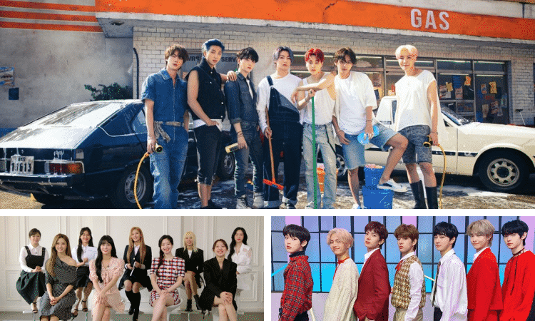 BTS, TWICE, TOMORROW x TOGETHER, y ENHYPEN dentro del festival Nippon TV 'The Music Day'