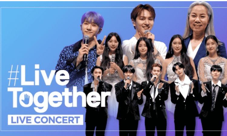Concierto de kpop con causa, LIve Together concert