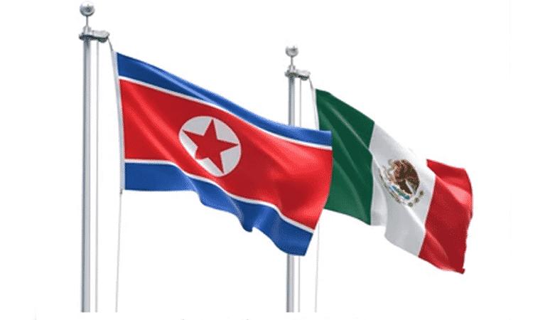México busca reanudar actividades comerciales con Corea del Norte