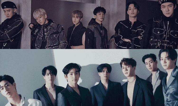 Fans suplican en redes por una colaboración entre EXO y GOT7 con el hashtag #EXOXGOT7