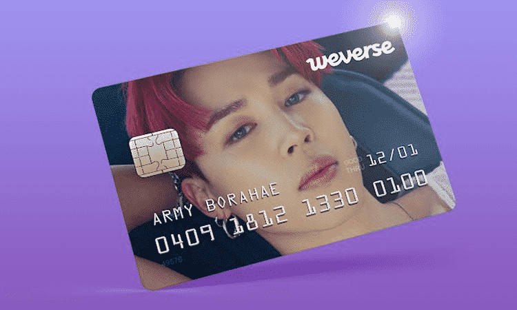 HYBE anuncia que lanzará tarjetas de crédito de Weverse para comprar mercancía