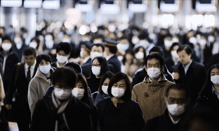 Japón supera el millón de casos positivos de COVID-19 en plenos Juegos Olímpicos