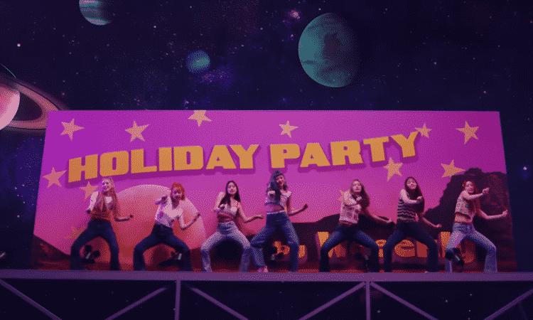 'Holiday Party' de Weeekly supera los 10 millones de reproducciones en YouTube